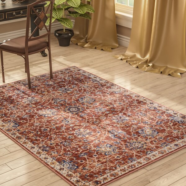 Westbrook Brick Area Rug by Astoria Grand