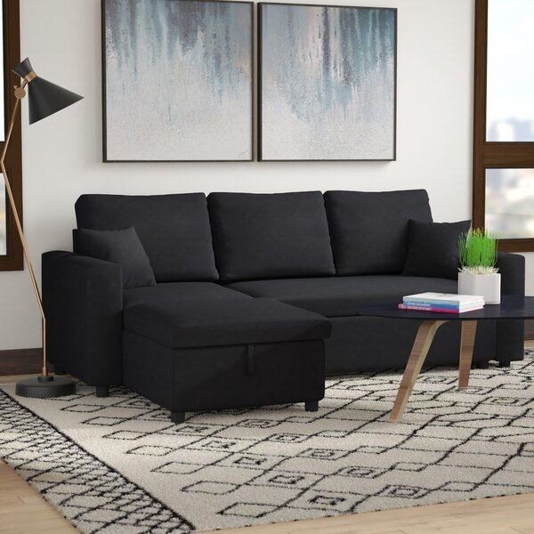 Vernita Reversible Sleeper Sectional by Zipcode Design