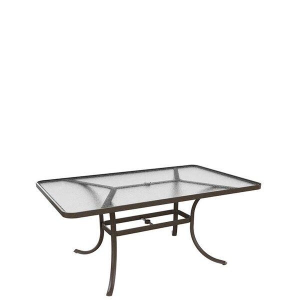 Umbrella Dining Table by Tropitone