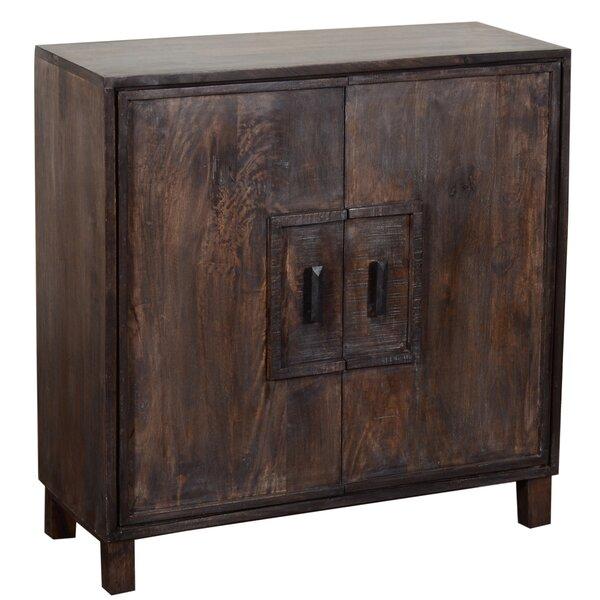 Bengal Manor Mango Wood 2 Door Accent Cabinet by Crestview Collection Crestview Collection