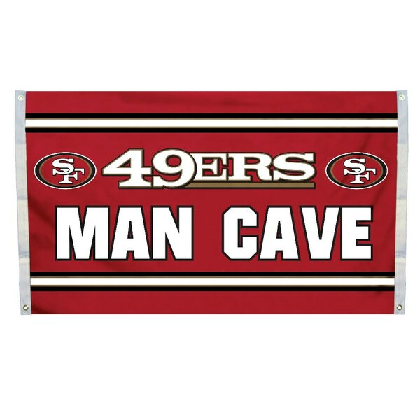 NFL Man Cave Polyester 3 x 5 ft. Flag Set by Fremont Die