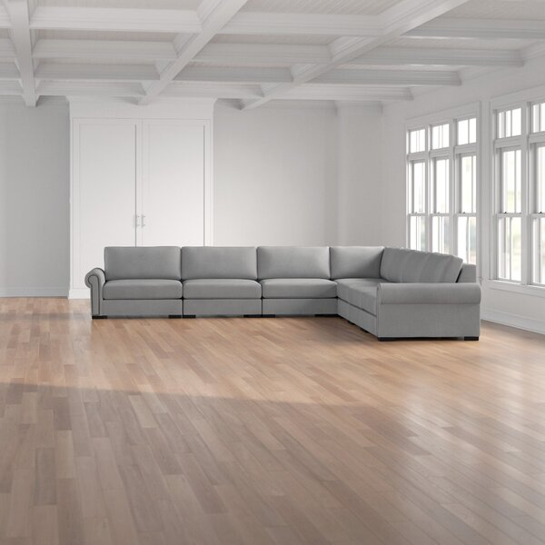 Willia Symmetrical Plush Deep Modular Sectional By Three Posts