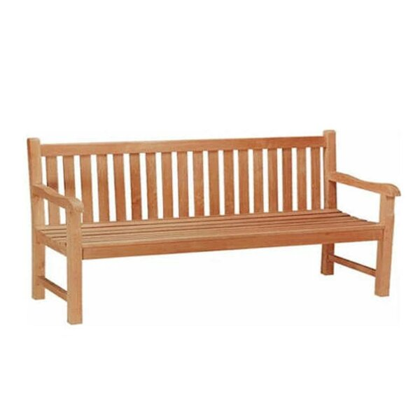 Classic 4-Seater Teak Garden Bench by Anderson Teak