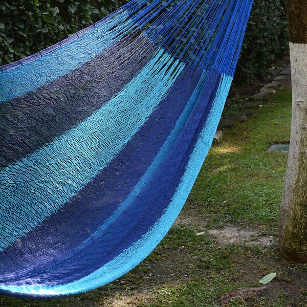 Yuliya Afternoon Breeze Camping Hammock by Bloomsbury Market