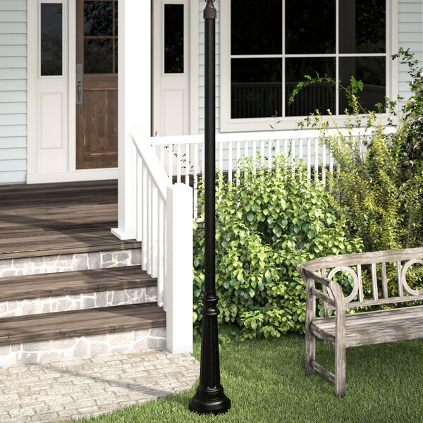 Leroy Surface Mount Post by Charlton Home