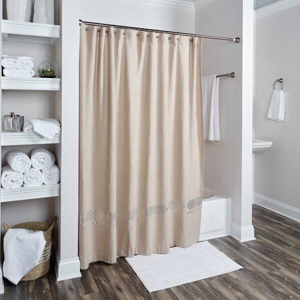 Londonshire Cotton Shower Curtain by Darby Home Co