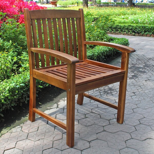 Pine Ridge Patio Dining Chair (Set of 2) by Beachcrest Home