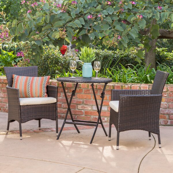 Sousa 3 Piece Bistro Set By August Grove by August Grove Top Reviews