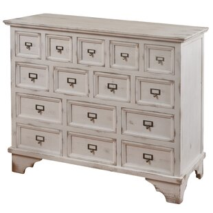 Shoshoni Apothecary 15 Drawer Accent Chest