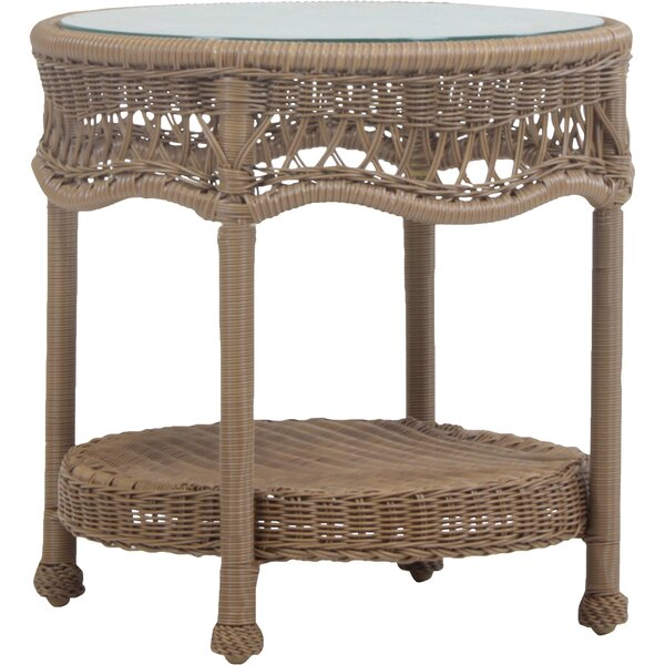 Stoneburner End Table by Bay Isle Home