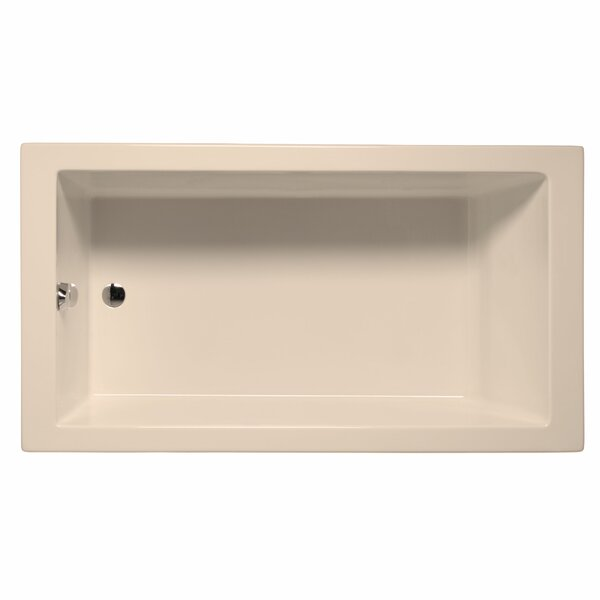 Venice 66 x 32 Soaking Bathtub by Malibu Home Inc.