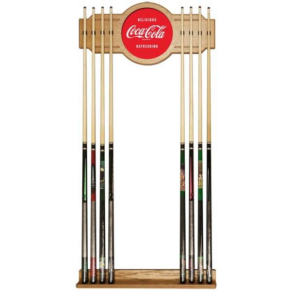 Coke Acrylic Cue Rack - Delicious Refreshing by Trademark Global