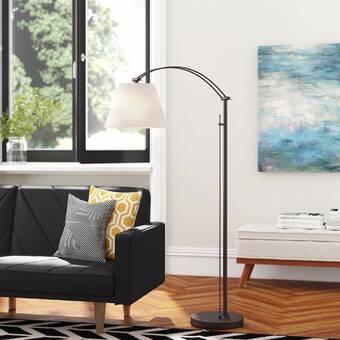 Brayden Studio Varnado 92 Arched Floor Lamp Reviews Wayfair