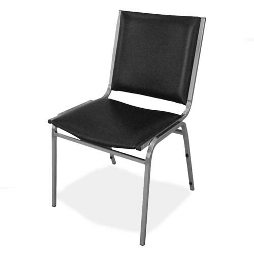 Stacking Chairs with Metal Leg Guest Chair (Set of 4) by Lorell