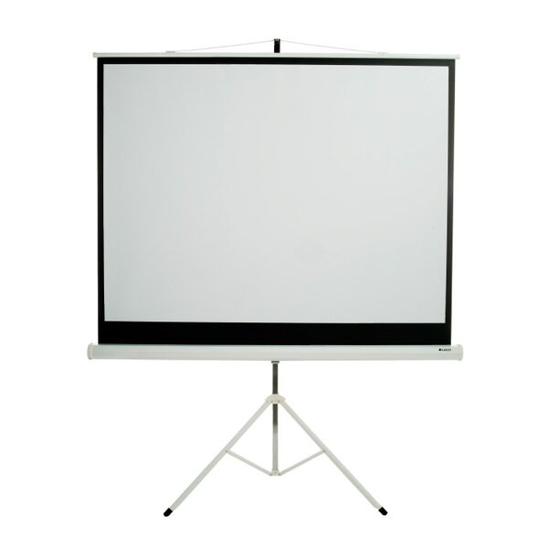 Matte White 84 diagonal Portable Projection Screen by Loch