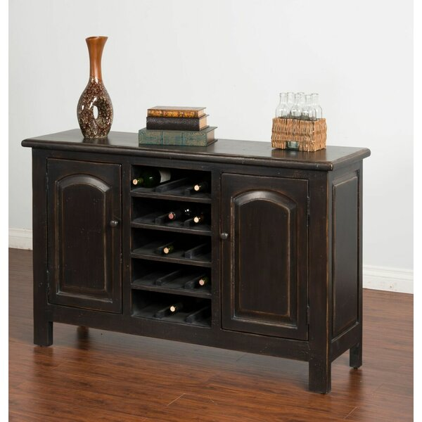 Berthold Bar Cabinet by August Grove