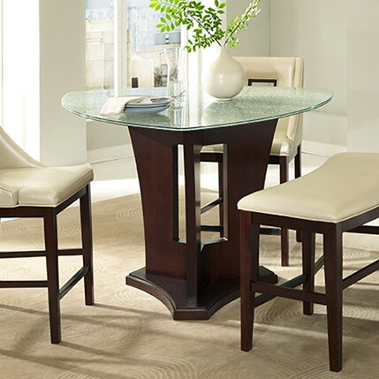 Soho Crackle Triangle Dining Set by Najarian Furniture