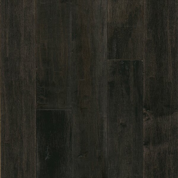 American 5 Solid Maple Hardwood Flooring in Dark Lava by Armstrong Flooring