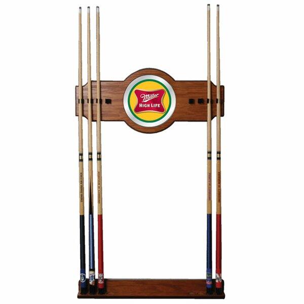 Miller High Life Billiard Cue Rack by Trademark Global