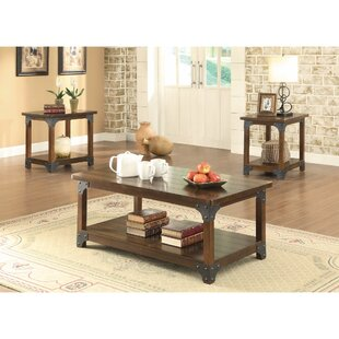 Mccrady Amazingly Craftsman Designed 3 Piece Coffee Table Set Williston Forge