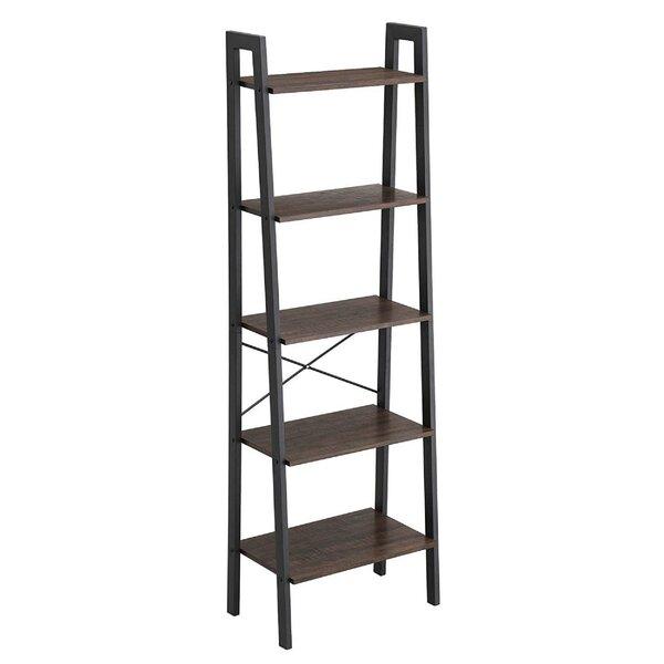 Villarreal Metal Framed Ladder Bookcase by Williston Forge