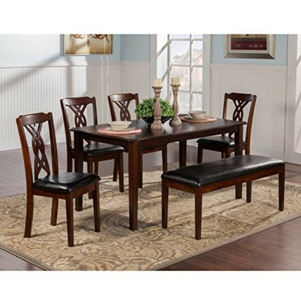 Laplant Rubberwood 5 Piece Dining Set by Alcott Hill