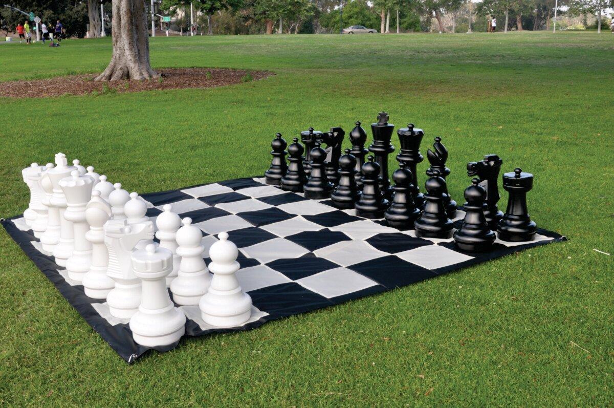 Genial CustomGameSource Giant Outdoor Chess Game U0026 Reviews | Wayfair