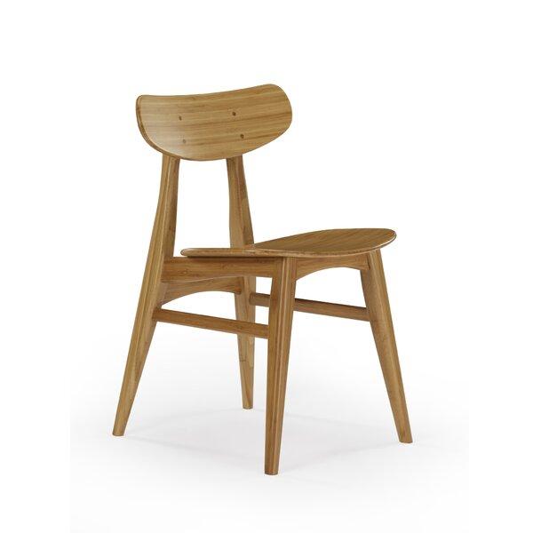 Glebe Solid Wood Side Chair in Caramelized (Set of 2) by Brayden Studio Brayden Studio