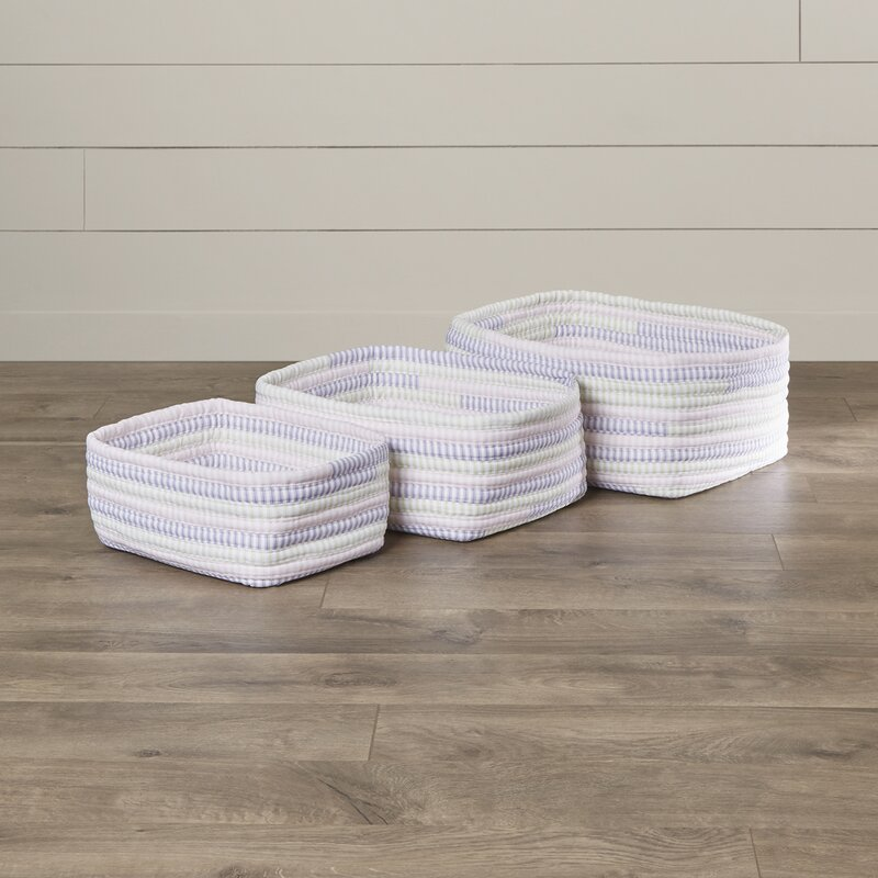 3 Piece Nesting Basket Set