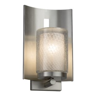 Compare prices Luzerne 1-Light Outdoor Sconce By Brayden Studio