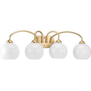 Bargain Jaina 4-Light Vanity Light ByMercer41