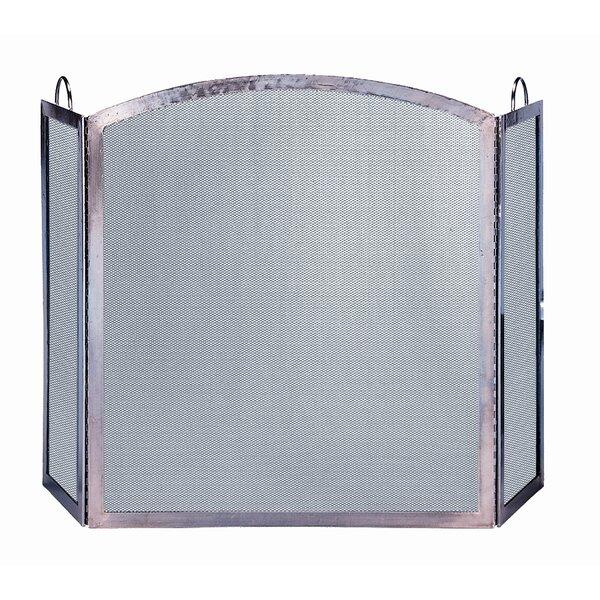 3 Panel Steel Fireplace Screen By Uniflame