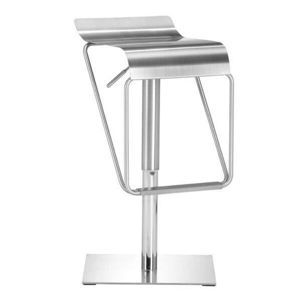 Shanelle Adjustable Height Bar Stool by Orren Ellis