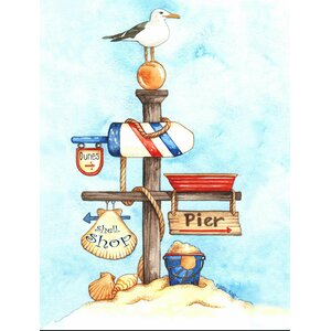 Outer Banks Graphic Art by LPG Greetings