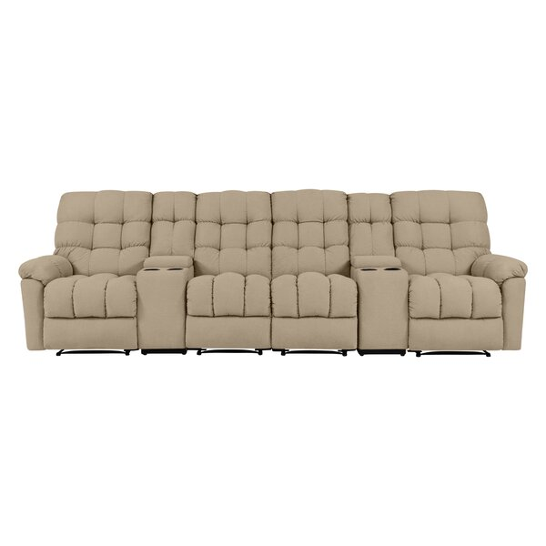 Best #1 Mauston Tufted Reclining Sofa By Red Barrel Studio Best