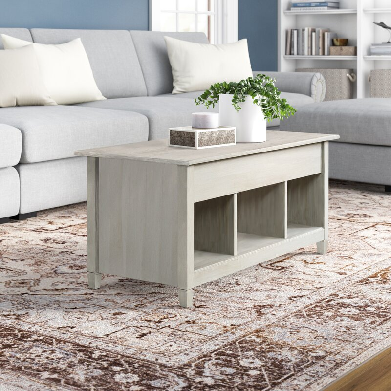 Lamantia Lift Top Coffee Table with Storage