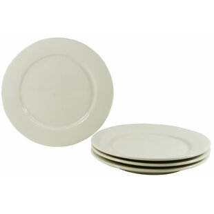 Buffalo Dinner Plate (Set of 4)  sc 1 st  Wayfair & White Porcelain Dinner Plates | Wayfair