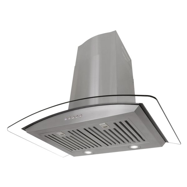30 760 CFM Convertible Wall Mount Range Hood by Cosmo