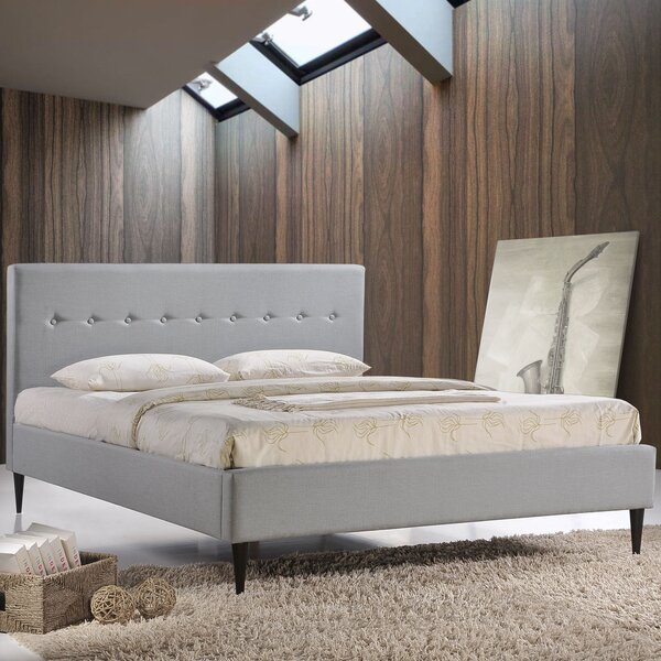 Upholstered Platform Bed by Modway