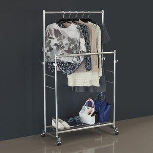 37 W Double Garment Rack