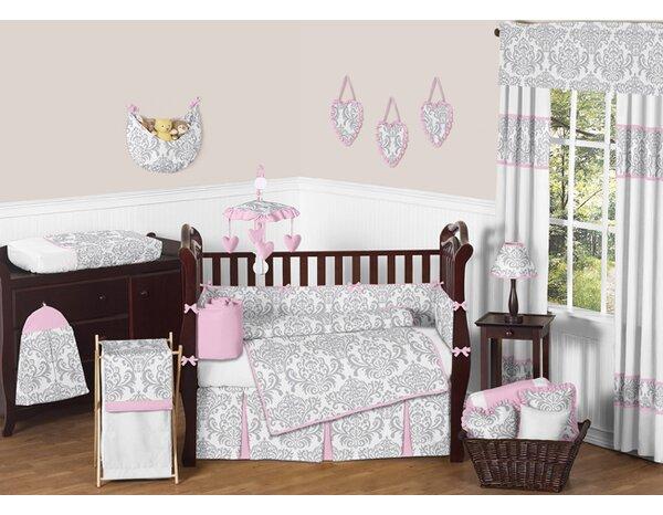 Elizabeth 9 Piece Crib Bedding Set by Sweet Jojo Designs