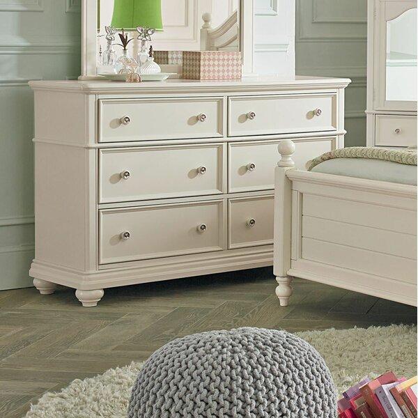 Adele 6 Drawer Double Dresser by Viv + Rae