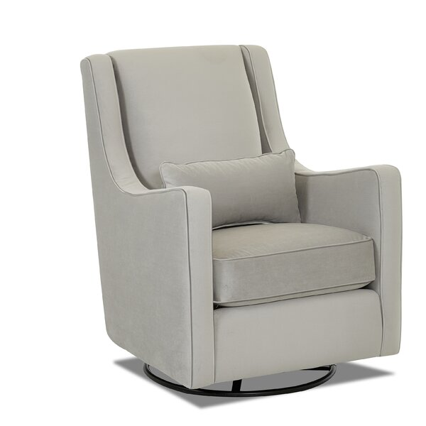 Landis Swivel Glider by Wayfair Custom Upholstery™