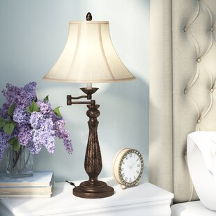 Where buy  Hanrahan Swing Arm 30 Table Lamp By Three Posts