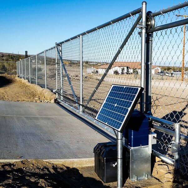Sliding Gate Opener Solar Kit by ALEKO