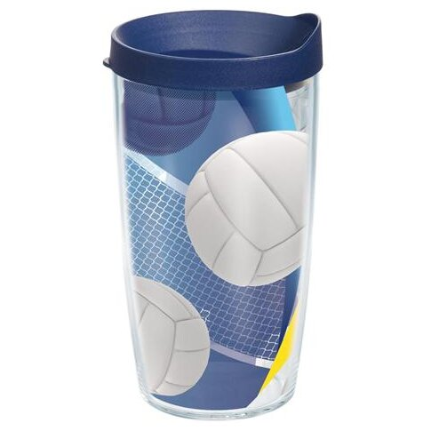 Game On Serving It Up Plastic Travel Tumbler by Tervis Tumbler
