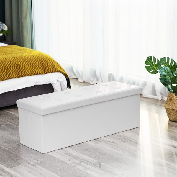 Gables Storage Ottoman by Winston Porter