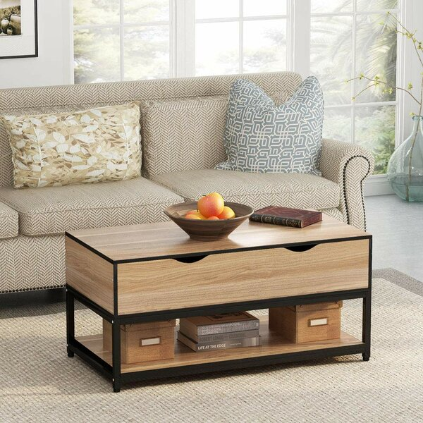 Grice Lift Top Coffee Table with Storage by Latitude Run