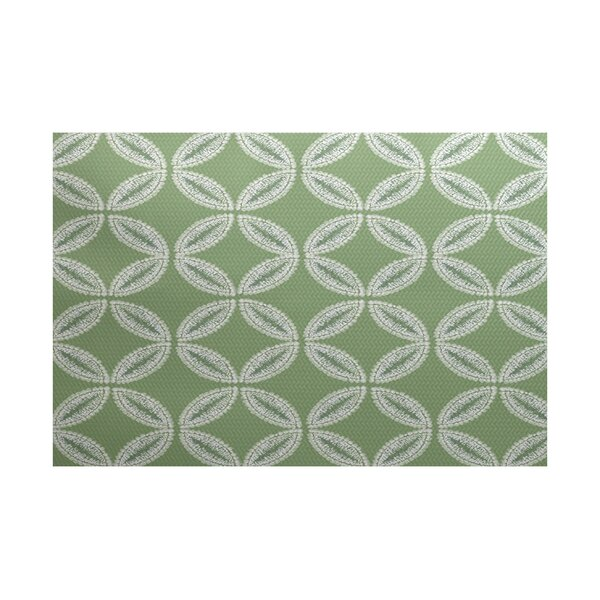 Viet Green Indoor/Outdoor Area Rug by Bloomsbury Market