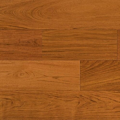 5-1/2 Solid Brazilian Cherry Hardwood Flooring in Natural by IndusParquet